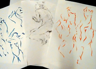 Divine Dancing Drawings
