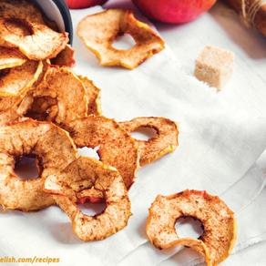 Delicious Cinnamon Apple Chips