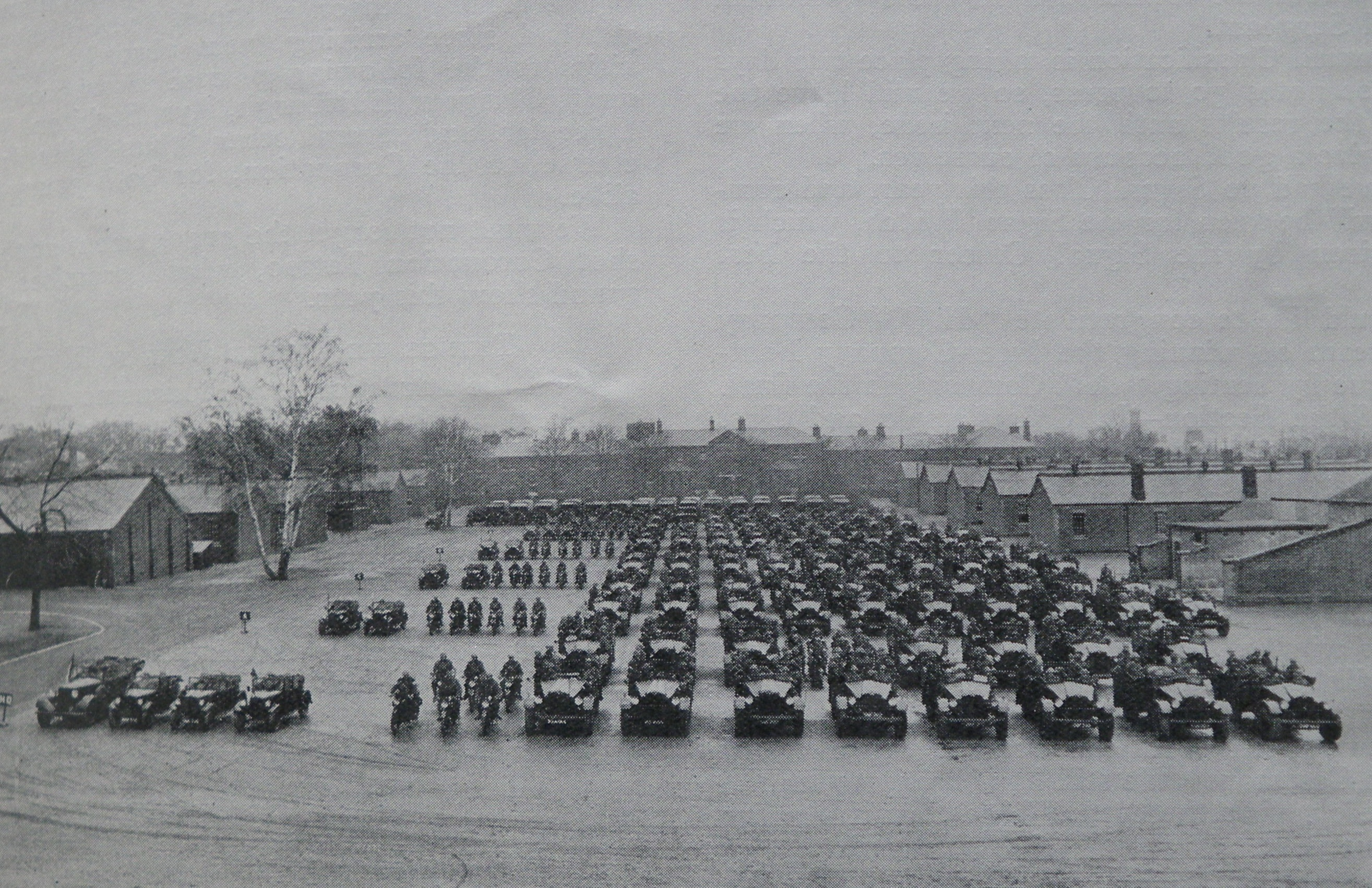Battalion transport 1937
