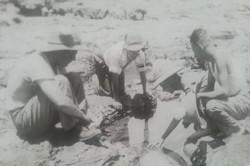 Cpl Wilkie's Motley Crew looking for crabs