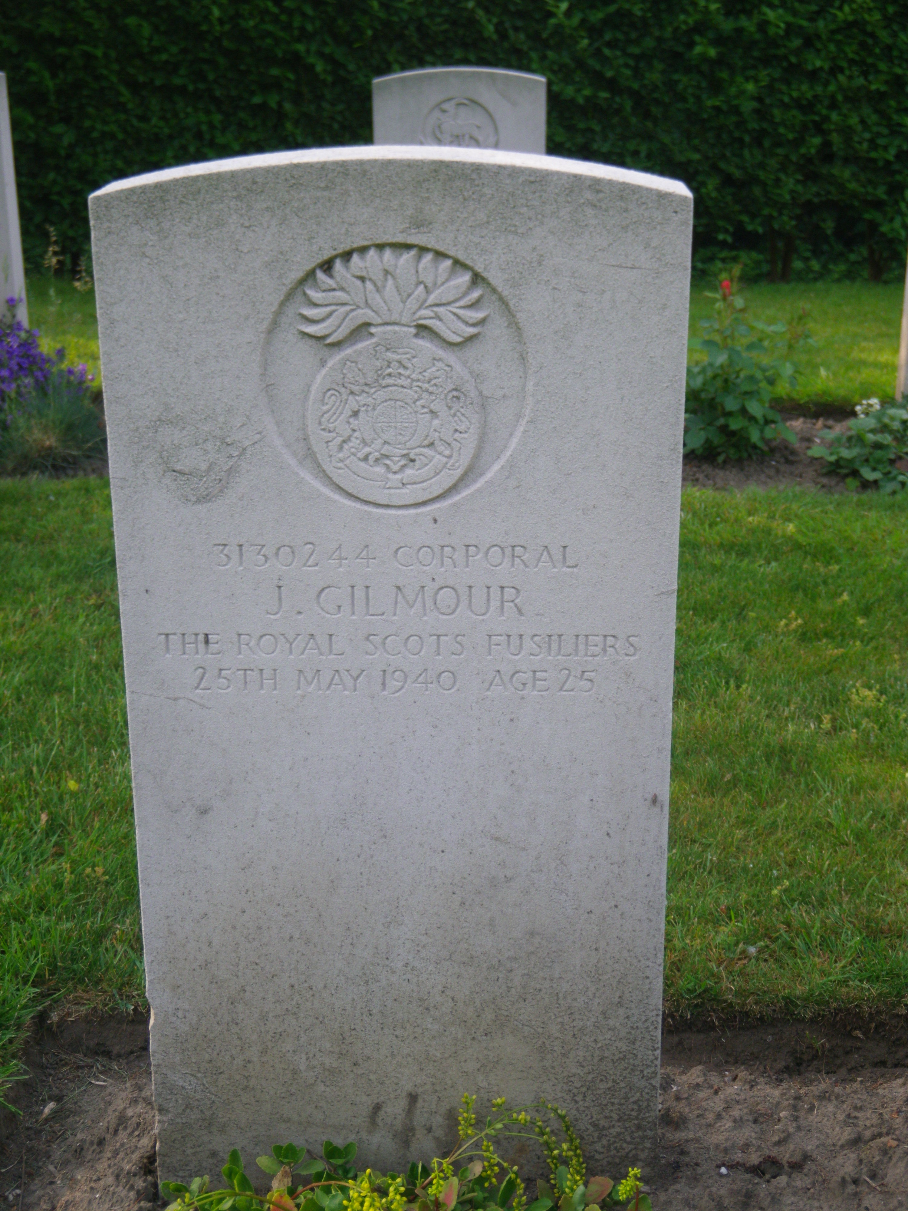 Cpl J Gilmour