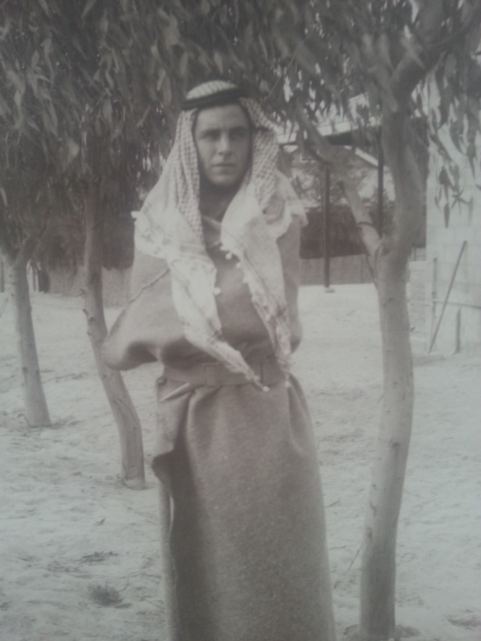 unknown Arab or is a fusilier