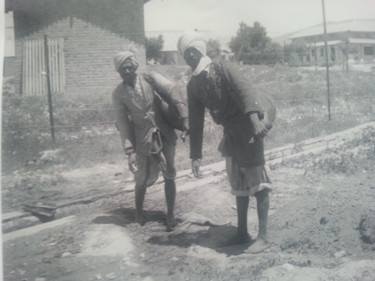 water carriers Palestine 1938