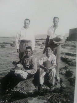 looking for crabs Port Said 1938