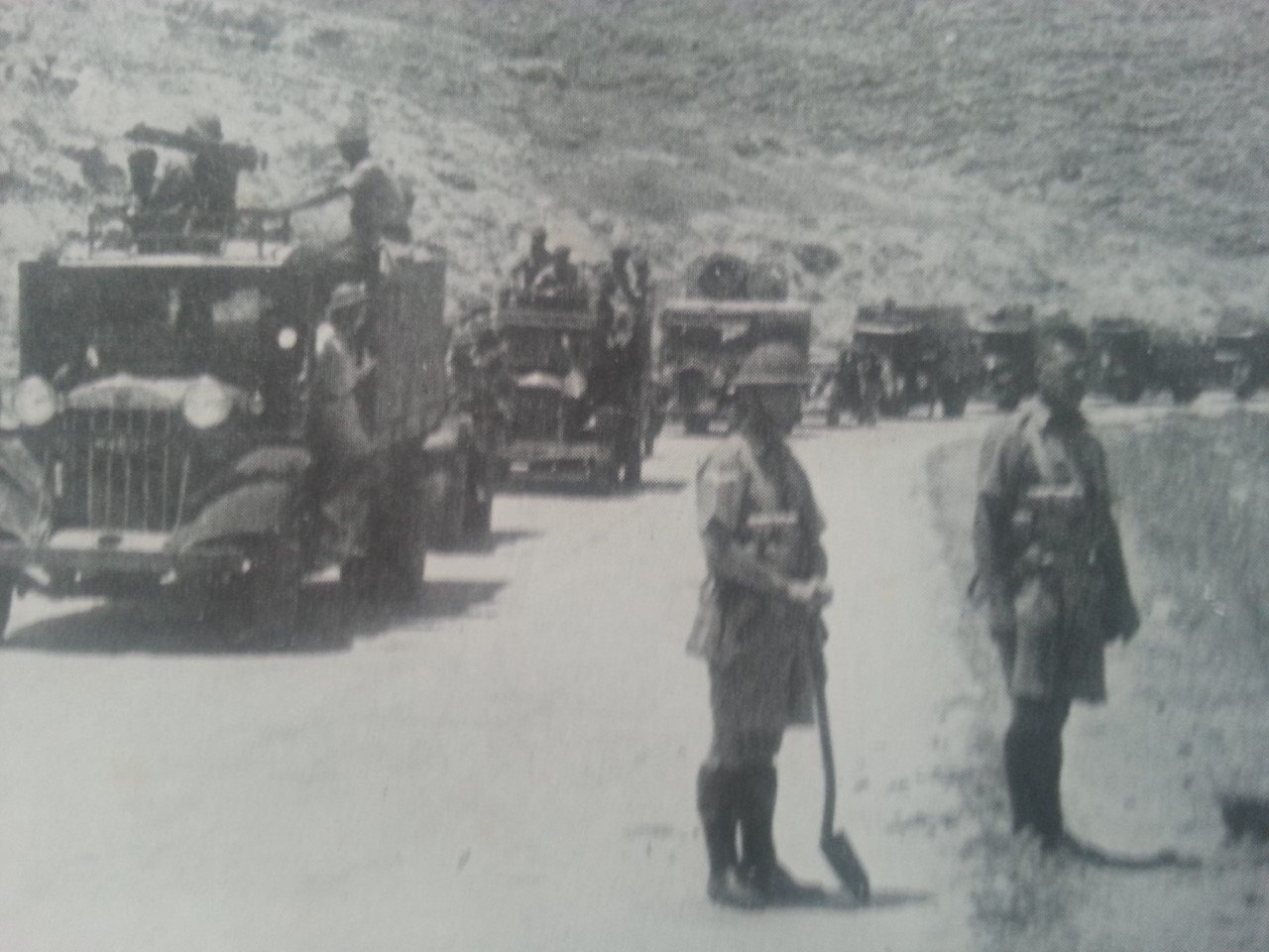 Windy Corner convoy duty palestine 1938