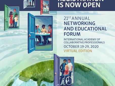 The door is open... Das IACP Forum 2020 findet online statt.