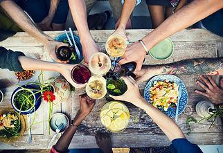 Food Table Healthy Delicious Organic Mea