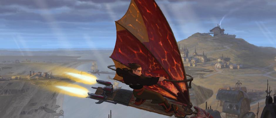 Treasure Planet: An ambitious, weird, and fun sci-fi adventure.