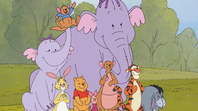 Pooh's Heffalump Movie: A subpar Winnie the Pooh film.