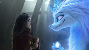 Raya and the Last Dragon:  A gorgeous and action-packed animated film.