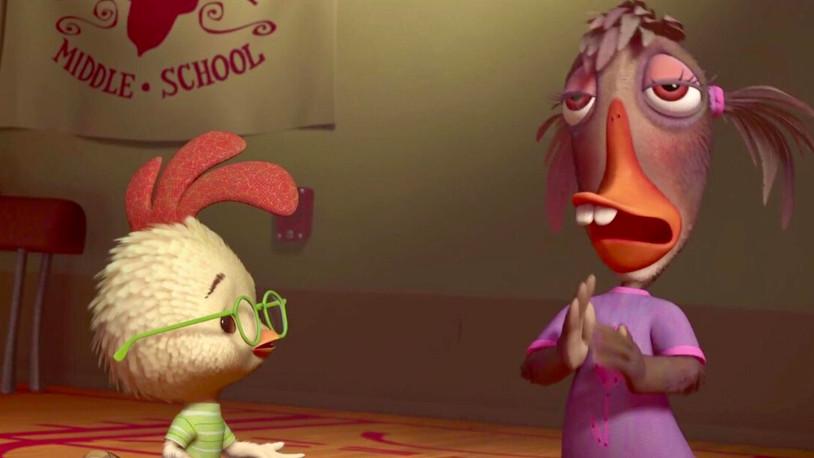 Chicken Little: A baffing film from Disney.