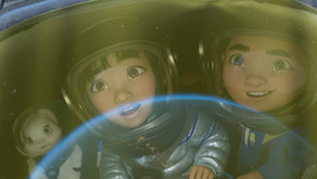 Over the Moon: A very odd yet visually stunning animated movie.