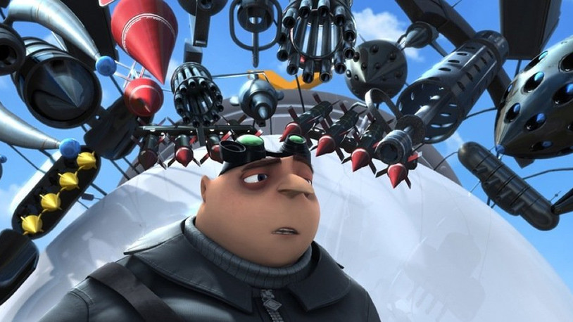 Despicable Me: A charming and funny animated film.