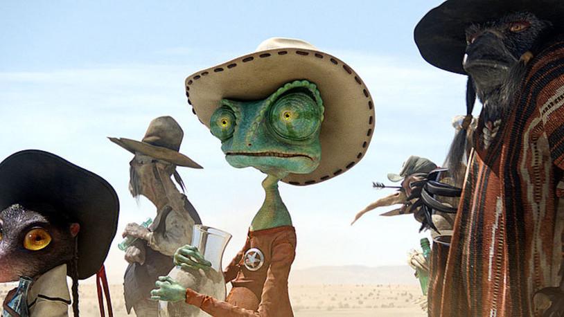 Rango: A very strange, but still amusing animated movie.