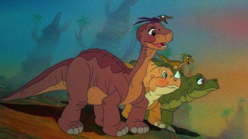 The Land Before Time: A beautiful and sweet tale about friendship.
