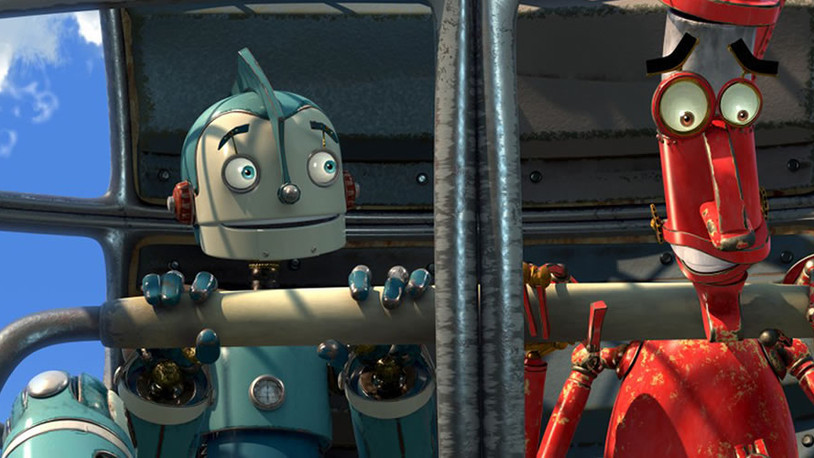 Robots: A visually impressive and kind of clever animated film.