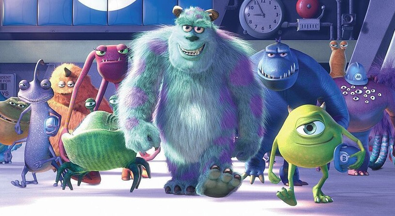 Monsters Inc: A heartwarming, funny, and insanely creative film.