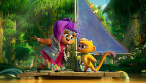 Vivo: An energetic and colorful animated musical.