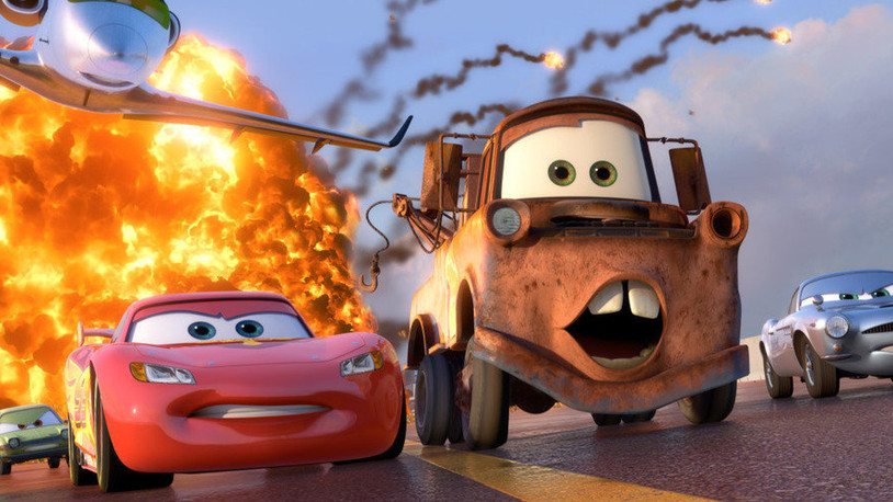 Cars 2: A disappointing and convoluted mess.