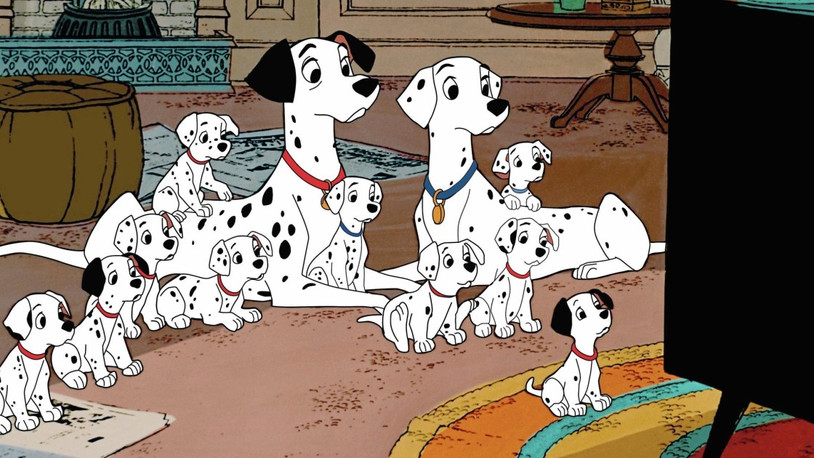 One Hundred and One Dalmatians: A stylish and fun Disney classic.
