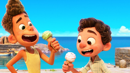 Luca: A cheerful and wonderful animated film.