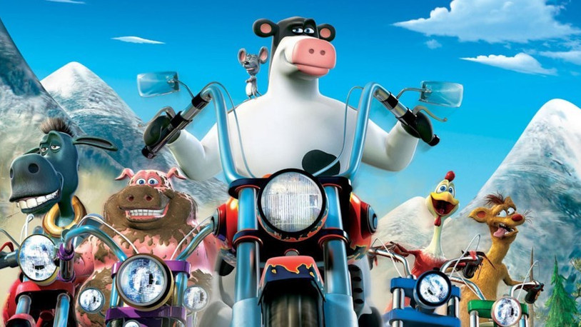 Barnyard: A laughably bad animated movie.