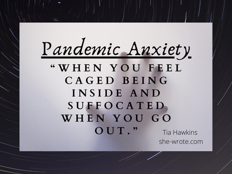A Little Pandemic Anxiety Prayer.