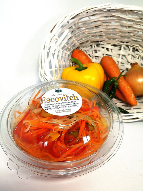 Escovitch Pickles