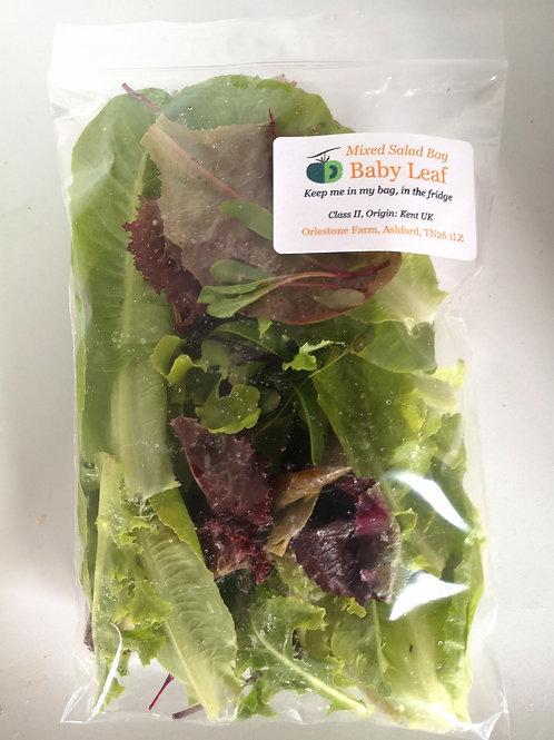 Salad leaf bag