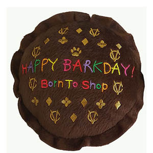 Chewy Vuitton Happy Barkday Cake
