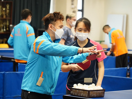 Table Tennis CompetitionBadges Scheme Test 乒乓球賽章別獎勵計劃