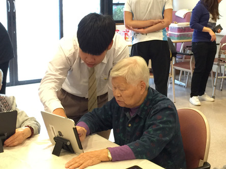 Visit to elderly home「余」你共聚