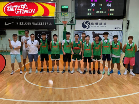 Students Achievement學生成就-Basketball team