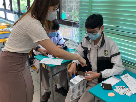 Caring for the community 生命連動