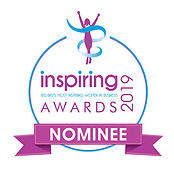 Inspiring Awards Official Nominee Ribbon