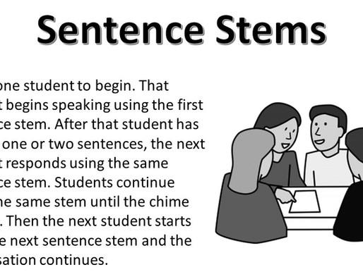 Sentence Stems