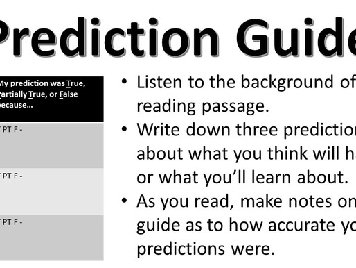 Prediction Guide