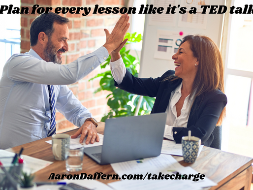 Take CHARGE of the Classroom #15: Planning