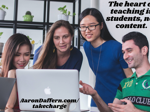 Take CHARGE of the Classroom #2: Relationships