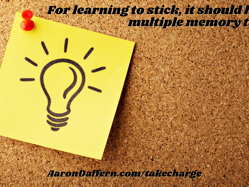 Take CHARGE of the Classroom #18: Making meaning