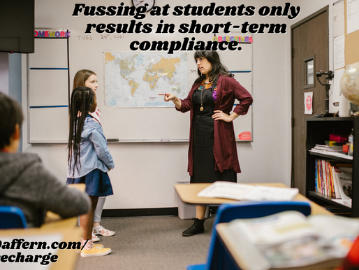 Take CHARGE of the Classroom #10: Action