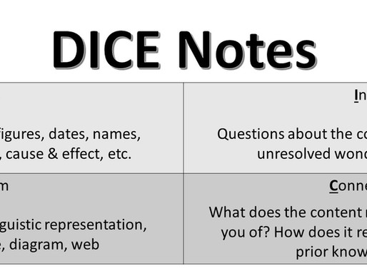 DICE Notes