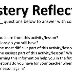 Mastery Reflection