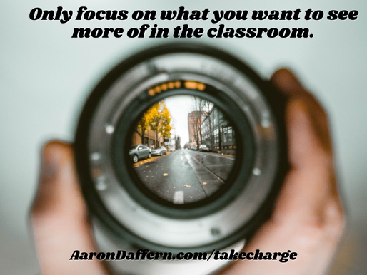 Take CHARGE of the Classroom #4: Attention