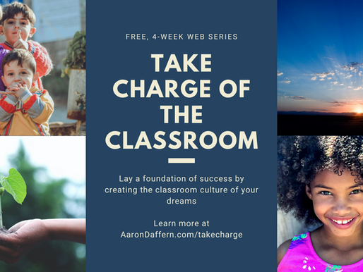 Take CHARGE of the Classroom web series