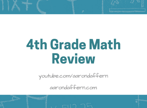 4th Grade Math Review: Day 12