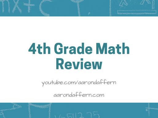 4th Grade Math Review: Day 6