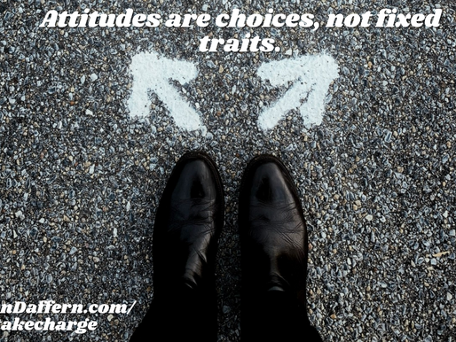 Take CHARGE of the Classroom #16: Attitude