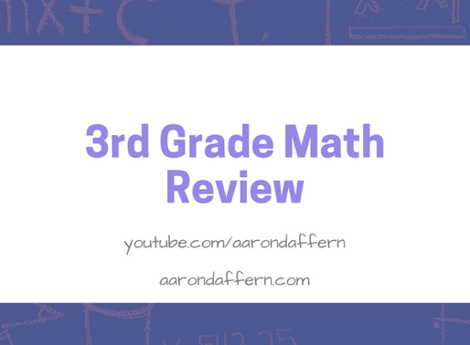 3rd Grade Math Review: Day 12