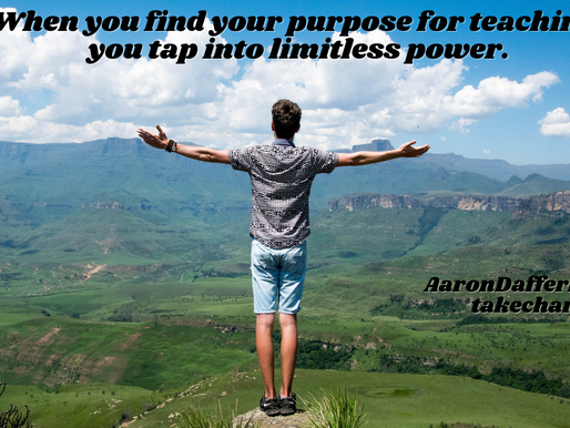 Take CHARGE of the Classroom #17: Purpose